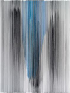 Anne Lindberg parallel 43  2014 graphite & colored pencil on mat board 60 by 80 inches