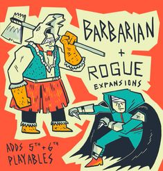 Board Game Themes, Board Games, Barbarian, Rogues, Comic Books, Ads, Comics, Tabletop Games, Cartoons