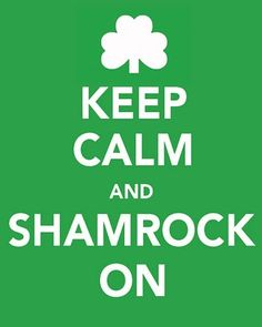 this will be my motto on 3/17 aka st. patrick's day....aka my 22nd bday :)