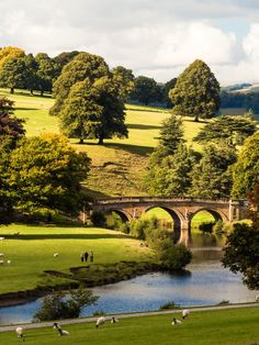 Chatsworth , wonderful Capability Brown landscape