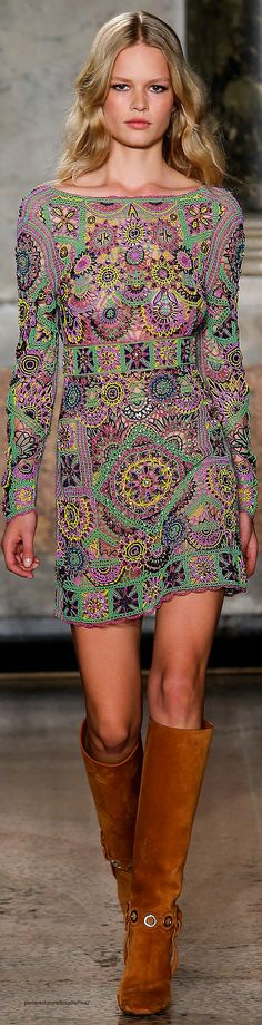 Spring 2015 Ready-to-Wear  Emilio Pucci