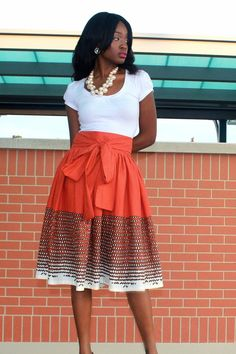 Very Nice!! #workflow #churchflow  Asantewaa Day Skirt, but without the necklace