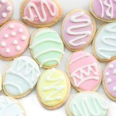 Easter Egg Sugar Cookies | Ahead of Thyme