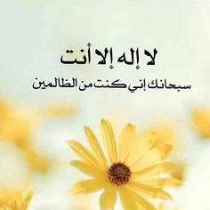 لا اله الا انت سبحانك اني كنت من الظالمين Quran Quotes Verses Quran Quotes Islamic Paintings