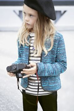ZARA - French fashion inspiration for a girl. Love the jacket!