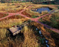 Tianjin Qiaoyuan Park by Turenscape Landscape Architecture