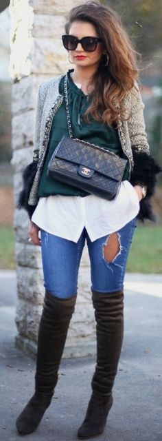 3 basic pieces - 2 outfits - FashionHippieLoves #basic