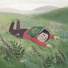 Lovely illustration in color Illustration Mignonne, Children's Book Illustration, Character Illustration, Illustrations And Posters, Margarita, Art Inspo, Book Art, Artwork, Art Drawings
