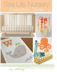 Sea Life Nursery...someday this will be the PERFECT theme