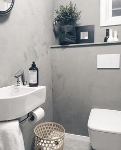 Home @joridkvam | IG Laundry In Bathroom, Bathroom Inspo, Bathroom Inspiration, Bathroom Ideas, Beautiful Bathrooms, Modern Bathrooms, Jotun Lady, Cider House Rules, Guest Toilet