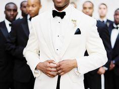 Men in White | Grooms Wearing White - KnotsVilla