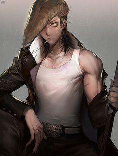 Mondo Oowada ( Dangan Ronpa ) It's going to be hard to bind my chest :/