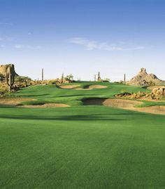 Troon North Golf in Scottsdale Arizona-amazing golf course!!