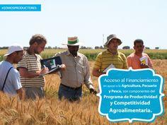 Acceso al Financiamiento en apoyo a la Agricultura, Pecuario y Pesca, son componentes del Programa de Productividad y Competitividad Agroalimentaria. SAGARPA SAGARPAMX #SomosProductores