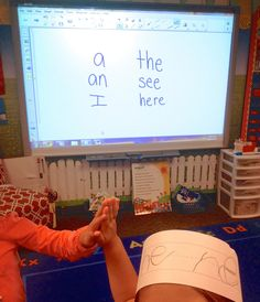 Kindergarten Sight Word Practice. Using Kagan Strategy- Stand Up, Hand Up, Pair Up