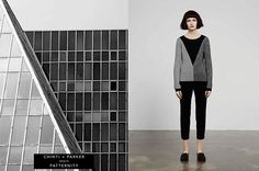 Architecture-inspired knitwear from Chinti and Parker plus Patternity