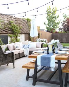 11 Chic Ways to Make Your Yard More Private #RueNow