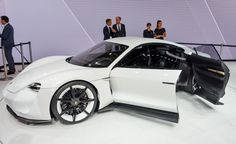 Porsche Mission E Concept: Charging for the Tesla P90D - Photo Gallery of Auto Shows from Car and Driver - Car Images - Car and Driver