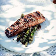 Łosoś teriyaki nie tylko z grilla Lactose Free Recipes, Teriyaki Salmon, Yummy Food, Delicious Recipes, Poultry, Free Food, Dairy Free, Main Dishes, Seafood