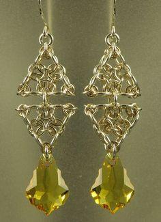 01 Triangle Earrings  (pas de tuto)