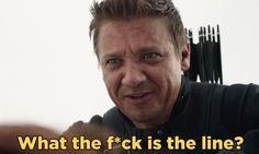 "The ""Captain America: Civil War"" Bloopers Are Too Damn Cute Marvel Dc Comics, Marvel Avengers, Avengers Humor, Marvel Funny, Super Hero Shirts, Captain America Civil War, Clint Barton, Jeremy Renner, Marvel Movies"