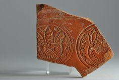 African red slip ware sherd with fish stamp 6