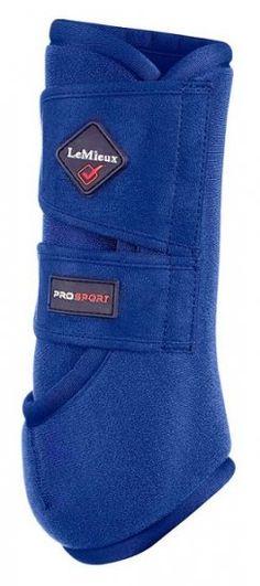 LeMieux Support Boots - Benetton Blue - Pair - £33.95 : The NoseBag - Tack Shop