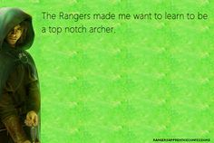 Yes, but I was already an archer before I read Ranger's Apprentice. Now, if only there was an archery range in my hometown....