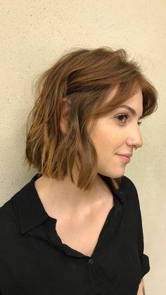 Karol queiroz cabelo curto short hair bob ruivo