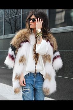 Fur x Denim