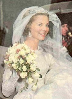 When Katharine Worsley wed Prince Edward of Kent in 1961, she 'borrowed' a small diamond tiara that started life with Queen Mary, sometimes nick-named 'the crochet or filigree' tiara