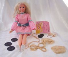 1971 Cynthia doll.  I had one, wish I still did.  She had a slit in her side where you could insert records, so she could talk.