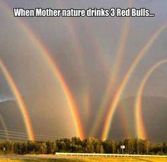funny-pictures-multiple-rainbows - LOLDAMN.com
