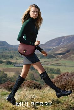 Mulberry Sets Fall Campaign in Scottish Highlands - Slideshow - WWD.com