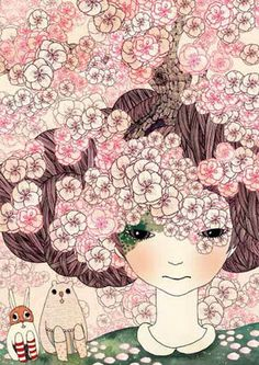 """Full Blossoms"" by Yoko Furusho"