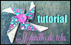 Kiwa Kawaii: Tutorial Molinillo de tela