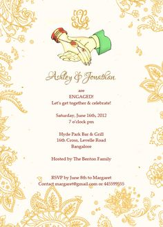 Engagement Invitation Wording Top 10 Beautiful Invitation Ideas