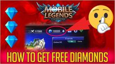 Free Diamonds No Survey Mobile Legends — Mobile Legends Hack Without Human Verification Mobile Legends Mod APK — Mobile Legends Free Diamonds How to Get Free Diamonds on Mobile Legends Without… Mlb, Episode Choose Your Story, Play Hacks, App Hack, Instruments, Android Hacks, Test Card, Mobile Legends, Hack Online