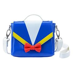 Small Donald themed handbag from Disney Store Japan.
