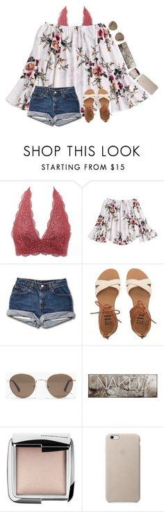 """""""~everything can wait for our love~"""" by graciegirl2015 ❤ liked on Polyvore featuring Charlotte Russe, Billabong, Madewell, Urban Decay and Hourglass Cosmetics"""