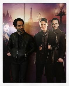 "4,752 Likes, 50 Comments - Ramin Karimloo (@raminkarimloo) on Instagram: ""Just hanging with some peeps. @anastasiabway"""