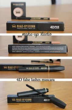 Make-up Studio Mascara False Lash Effect 4D Extra Black
