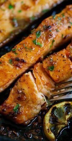 salmon-con-miel-y-ajo-recetas-faciles-y-sanas