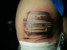 Land Rover Tattoo