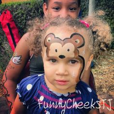 Face painting by FunnyCheeksTJ @Creekfest 2013 w/The Village booth in DeSoto, Tx