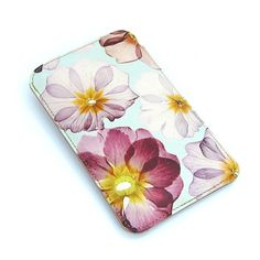 NEW Leather Samsung Galaxy S2 / S3 Case  Pressed Summer by tovicorrie, $43.00