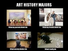 I am only an art history minor and I find this accurate
