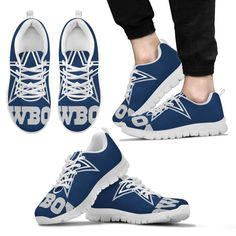 8df46e289ece Bandana Fever Blue Dallas Cowboys Print Casual Shoes  sneakers   sneakerfreak  playoffs  sportsnation