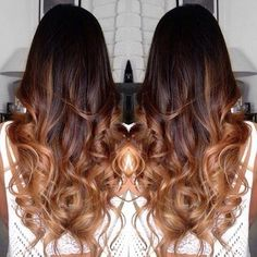 dark balayage ombre - Google Search
