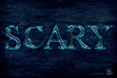 "Quick Tip: Create a ""Scary"" Text Effect in Photoshop - Tuts+ Design & Illustration Tutorial"